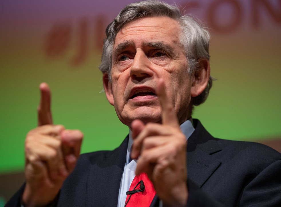 Former prime minister Gordon Brown has branded Universal Credit 'cruel and vindictive far beyond austerity'