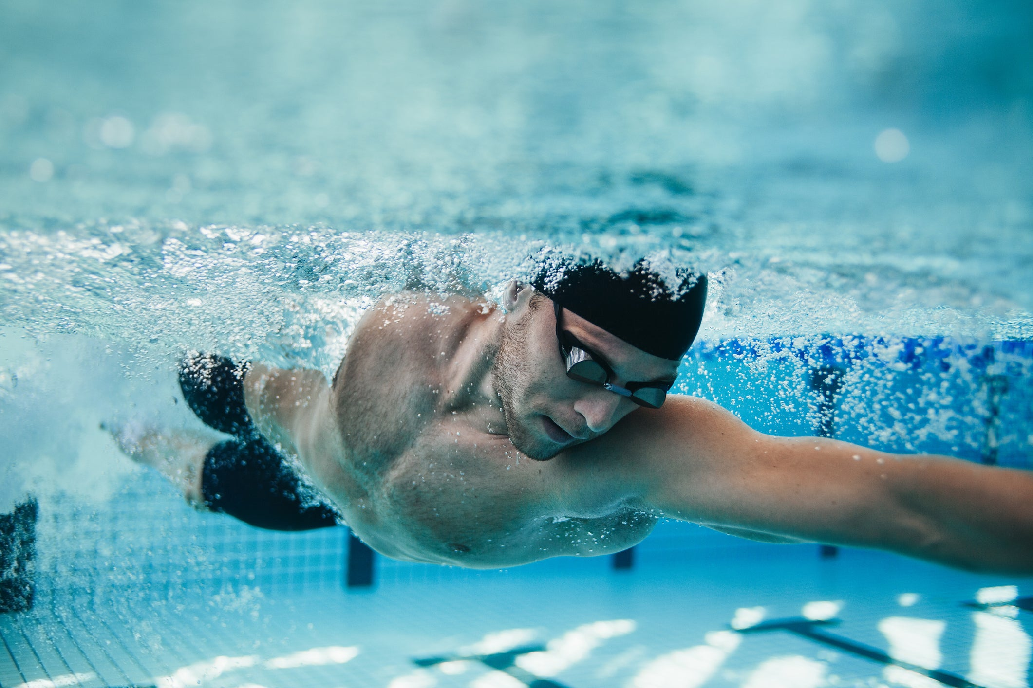 How swimming regularly can reduce symptoms of anxiety or depression