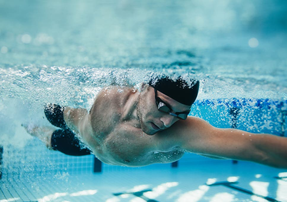 world mental health day how swimming regularly can reduce symptoms