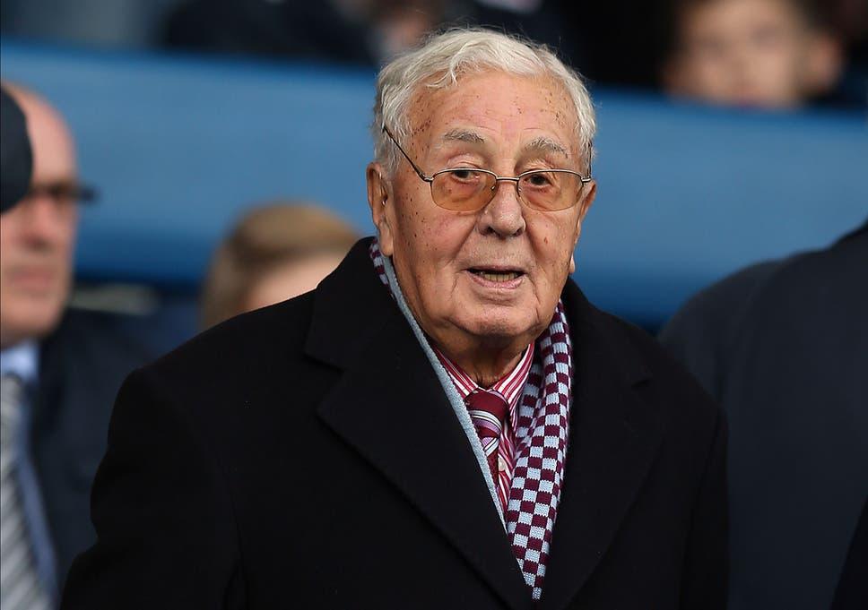 Doug Ellis The Former Chairman Of Aston Villa Hasd Aged