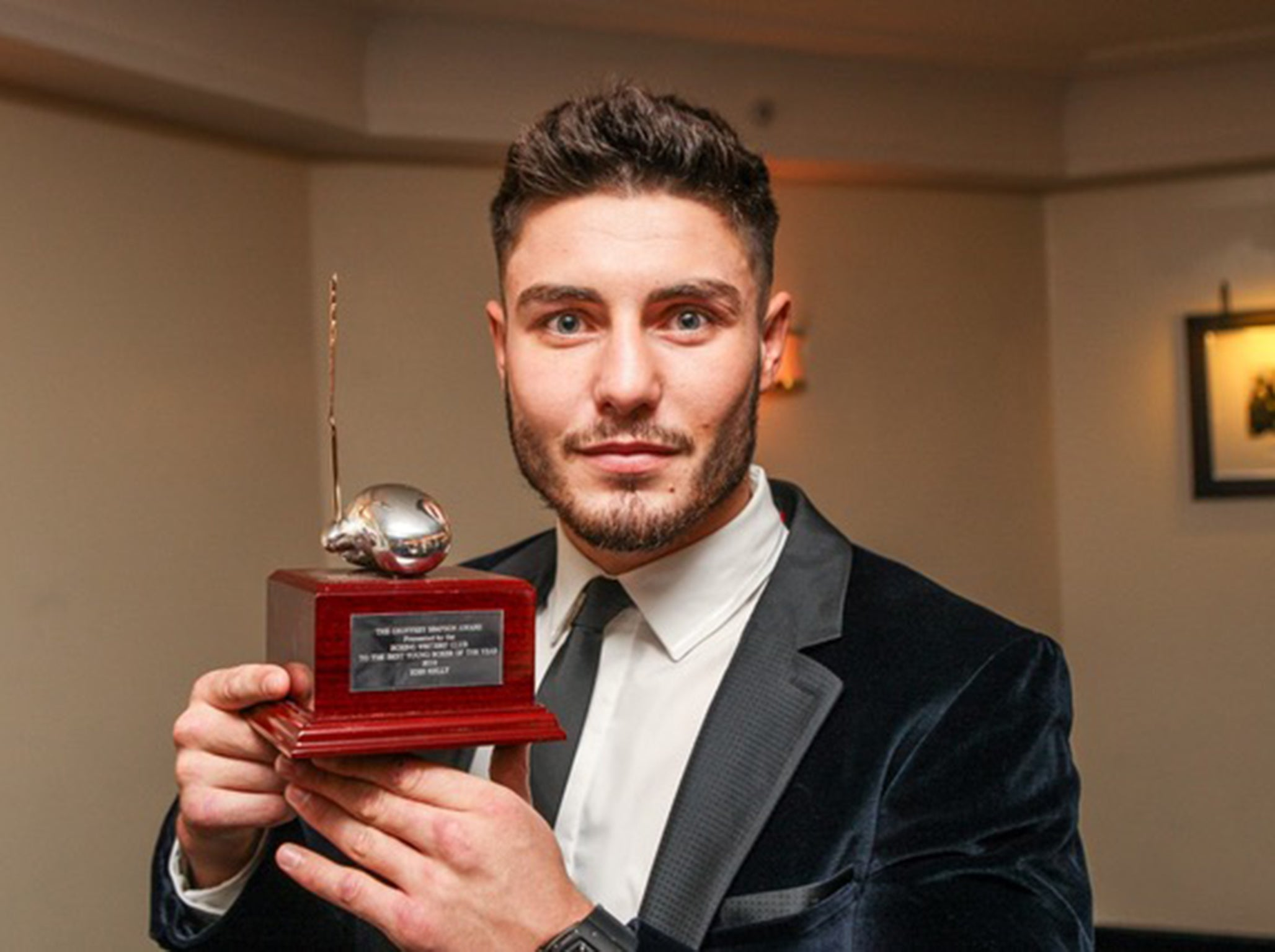 Josh Kelly named Boxing Writers' Club Young Boxer of the Year at star-studded awards ceremony