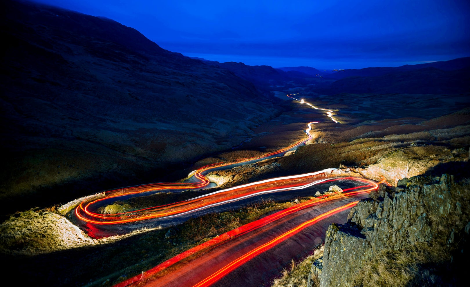 Top ten UK roads to drive along: From B3135 to the A701