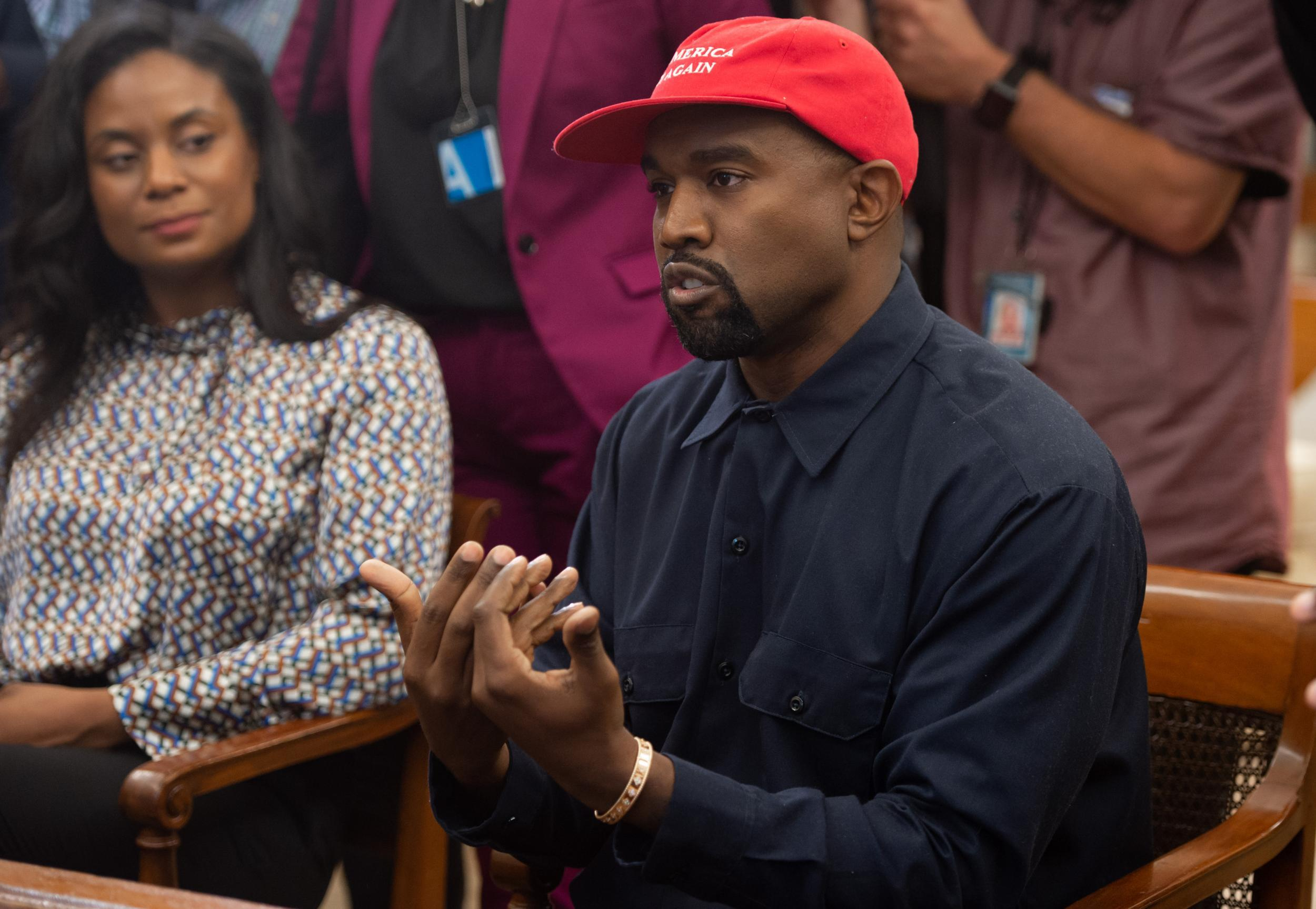 Kanye West reveals to Donald Trump that he was misdiagnosed with bipolar disorder by doctor