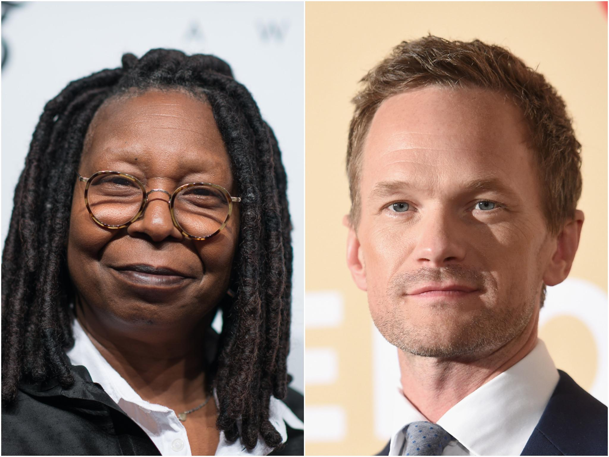 Neil Patrick Harris reveals Whoopi Goldberg once told him 'she was going to have sex with me'