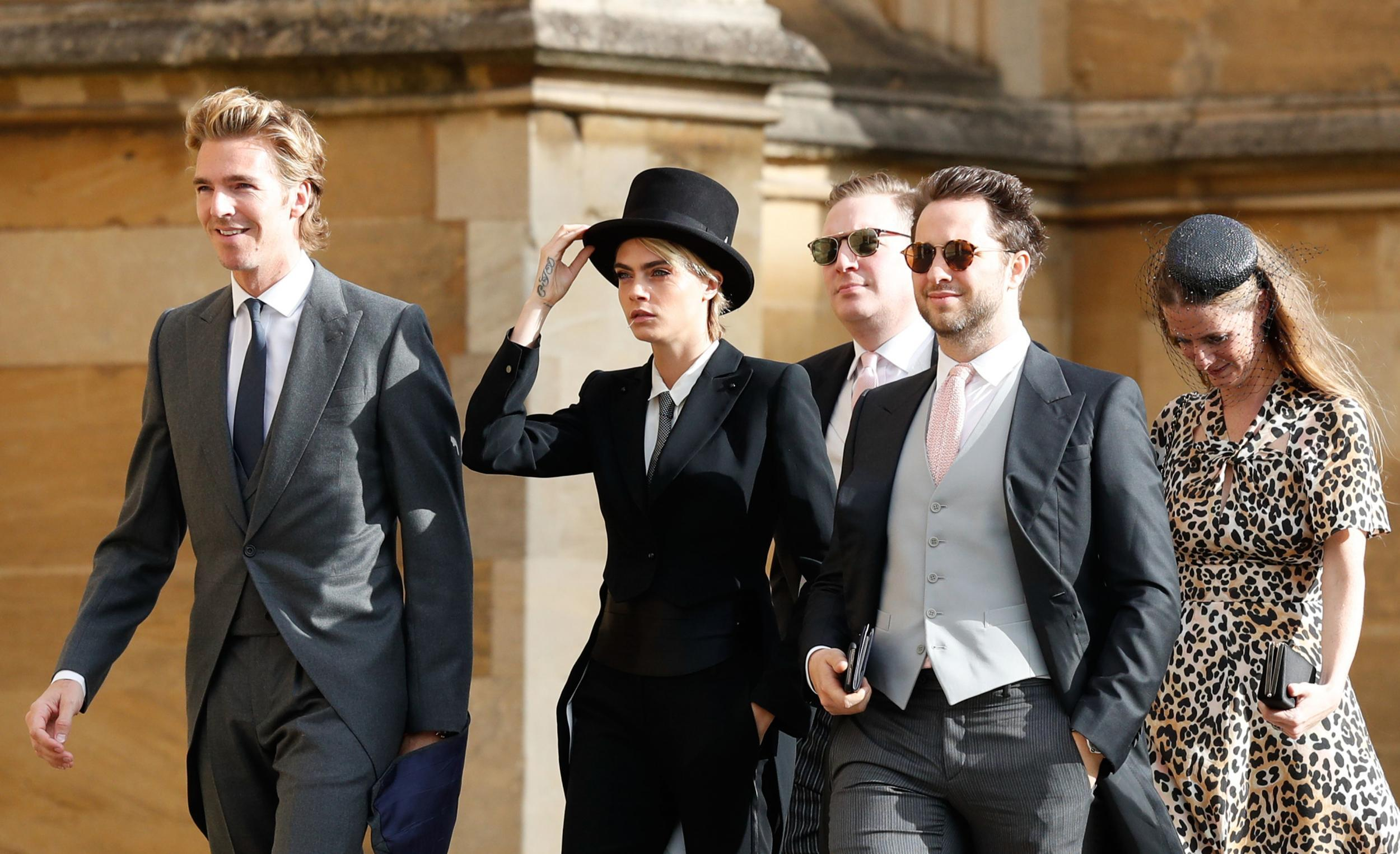 Princess Eugenies Wedding All The Guests From Demi Moore To Kate