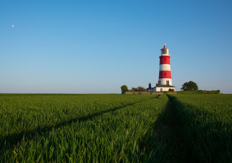 Happisburgh In Norfolk Pronounced Without The Word Happy It Sadly