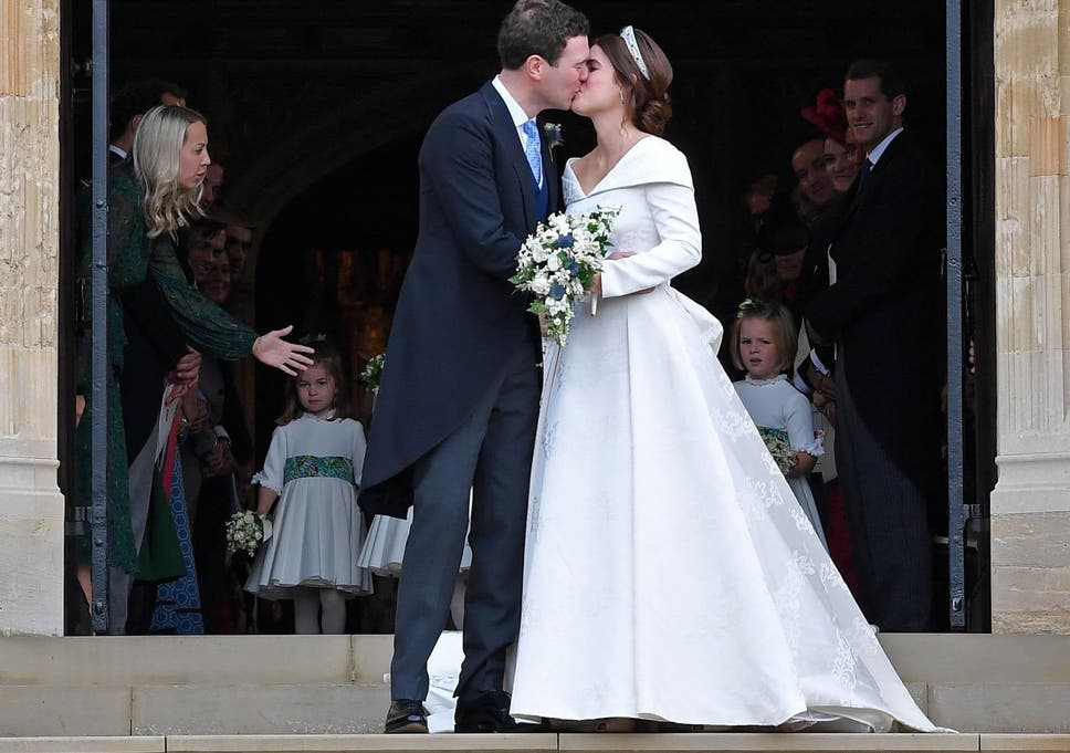 Princess Eugenie got married to Jack Brooksbank