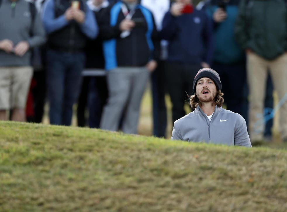 Tommy Fleetwood says his putting cost him victory