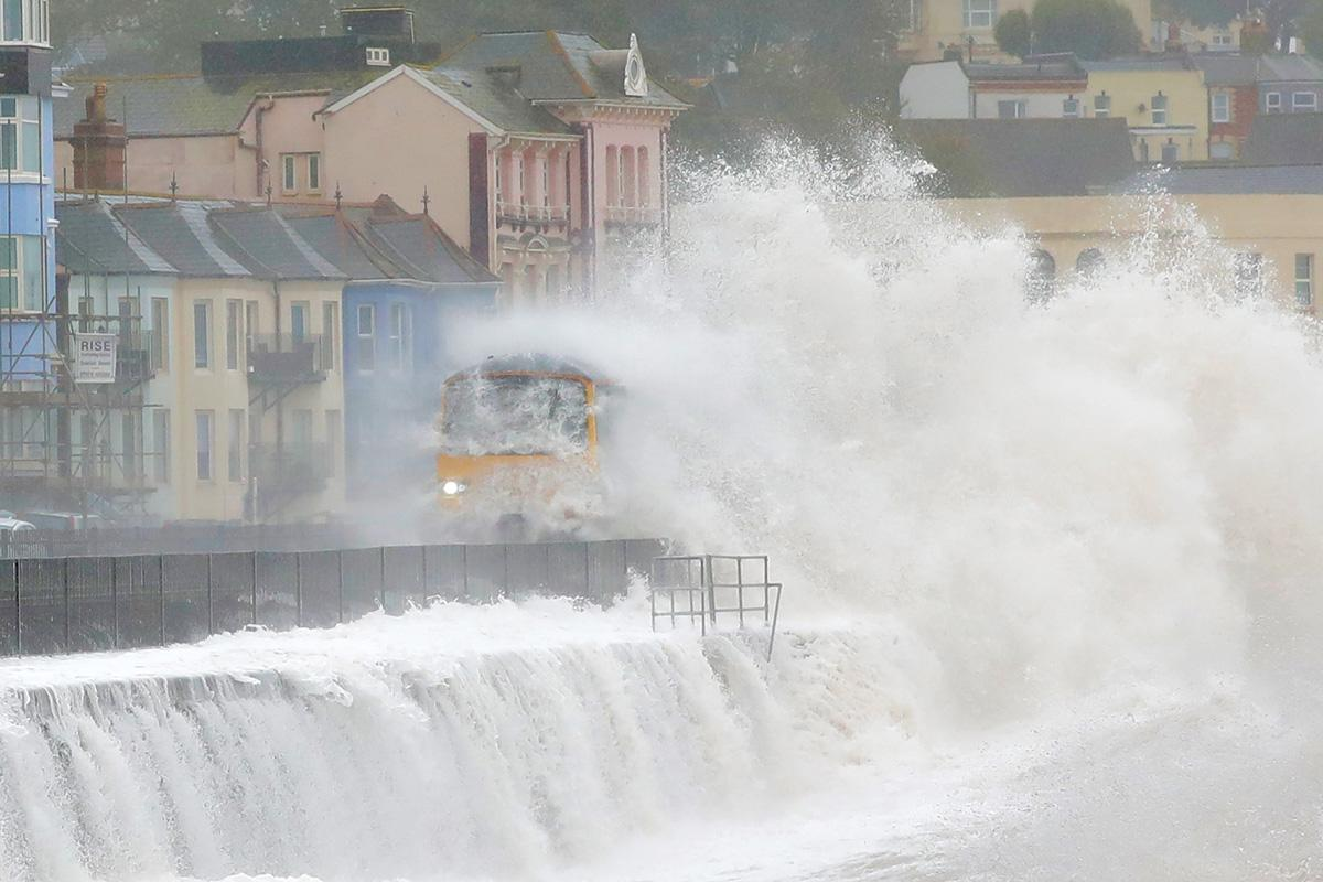 'Inversión de fortunas' cuando la lluvia golpea el este del Reino Unido después de Storm Callum