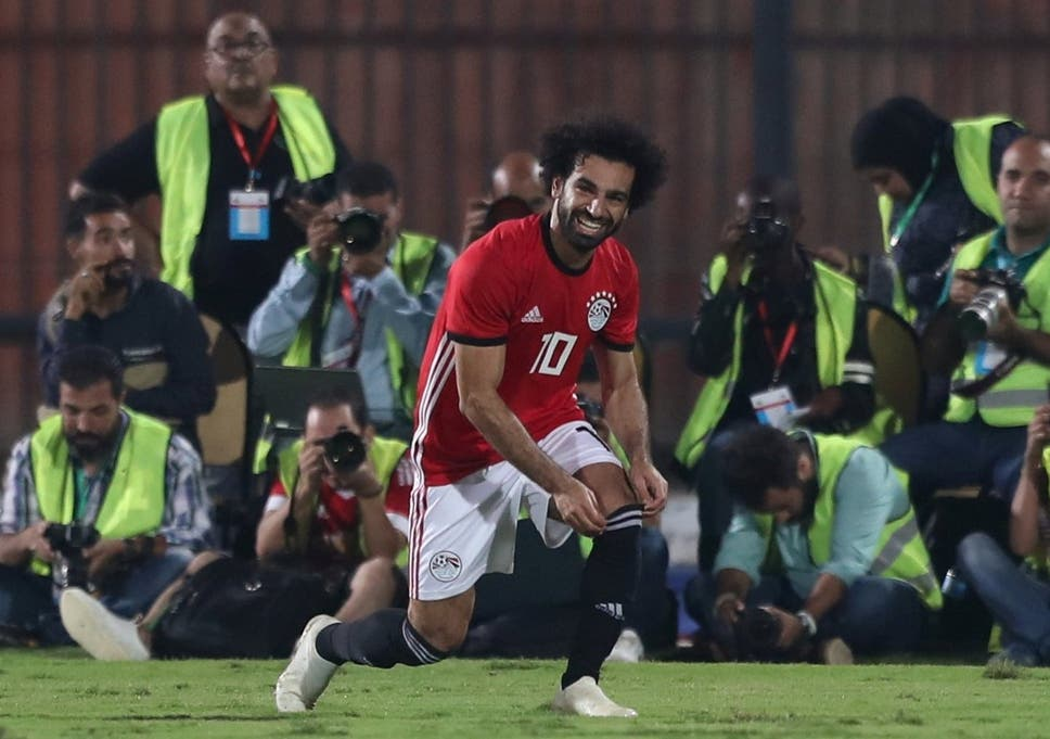 a5d58d42279 Mohamed Salah suffered a muscle strain during Egypt's win over Swaziland