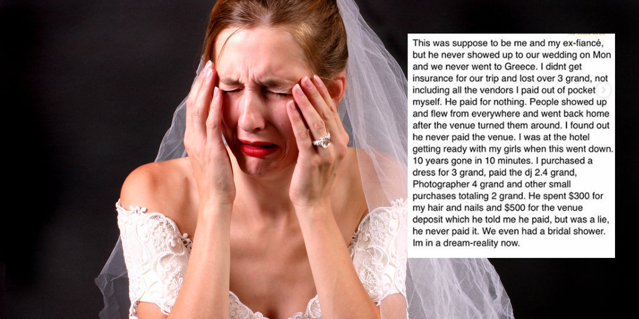 Bride gets advice from Instagram on how to plot revenge on