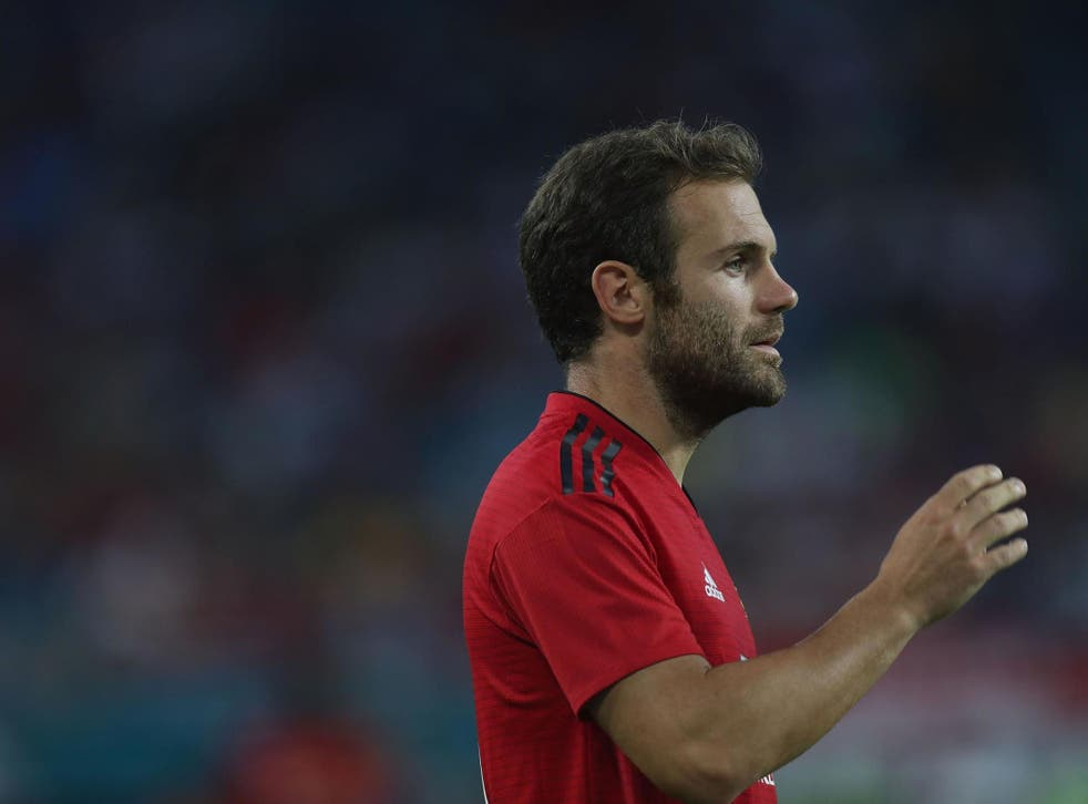 Juan Mata won't feature at all in Spain's Nations League clash with England on Monday night