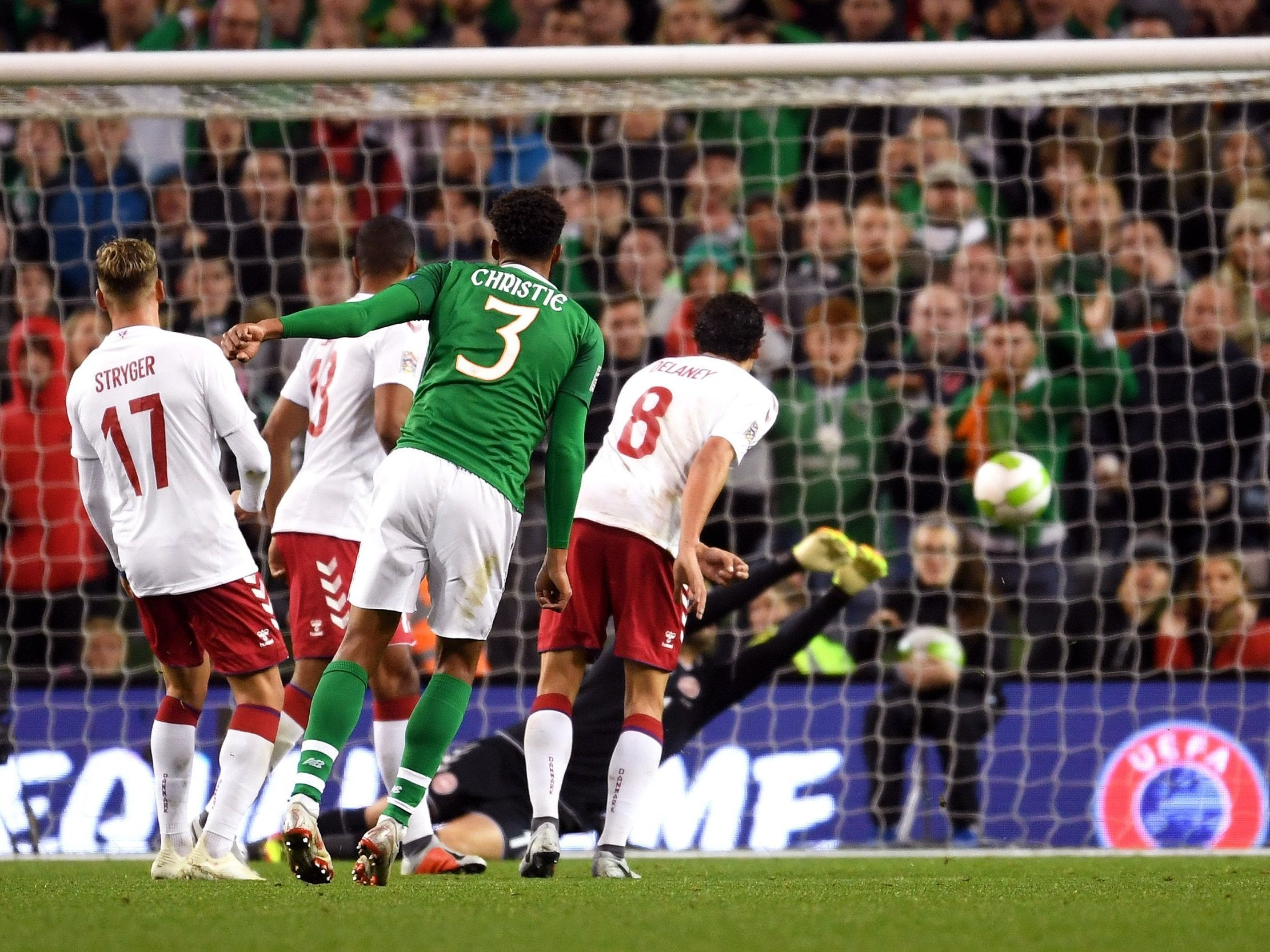 Republic of Ireland held by Denmark in dull Dublin encounter