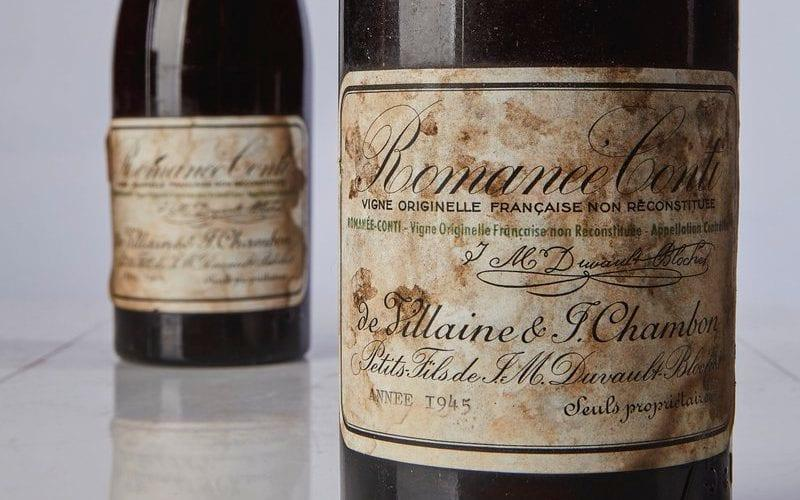 Bottle of 1945 Burgundy sells for £424,000 to become world's most expensive wine