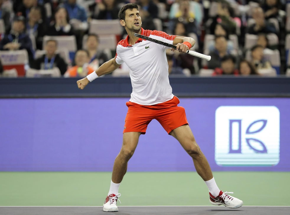 Novak Djokovic Wins Record Fourth Shanghai Masters Title As Jamie Murray Loses In Doubles Final The Independent The Independent