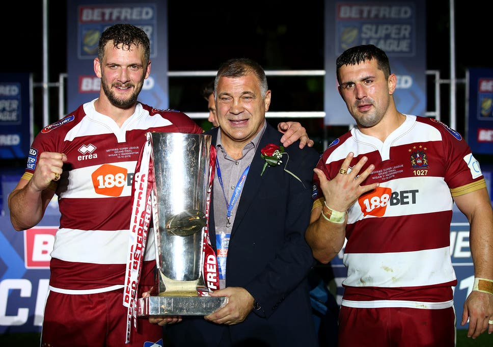 fa509fb82f5 Shaun Wane bows out on a high with Wigan Warriors but his laudable ...