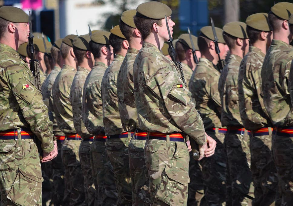 The new report examines the possibility that soldiers could be 'enhanced' by 'gene editing, physical and cognitive prosthesis and pharmaceuticals'