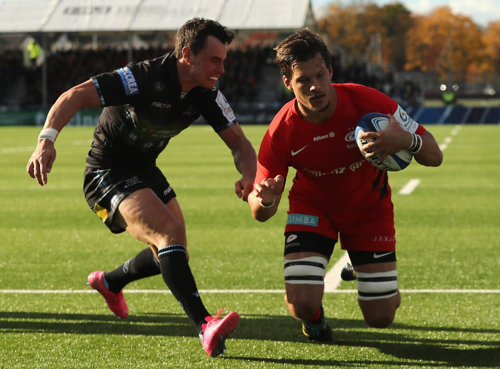 Mike Rhodes scored the game's only try