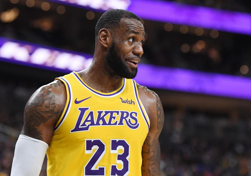63a5e5f61ee The Los Angeles Lakers and LeBron James are unlikely to make life  uncomfortable for Golden State