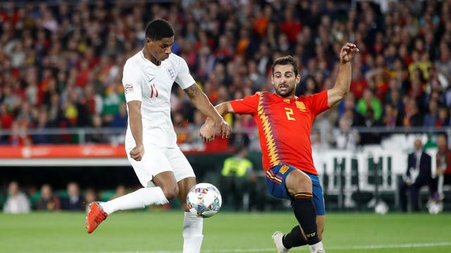Rashford took his goal really nicely and played a gorgeous pass for England's opener, but it is for his workrate that he earns high marks. His pace really worries teams and there was a sense tonight that he was a little more comfortable tucked inside rather than on the wide extremes. Tireless and diligent in his defensive work, Rashford never seemed to stop running and battling.