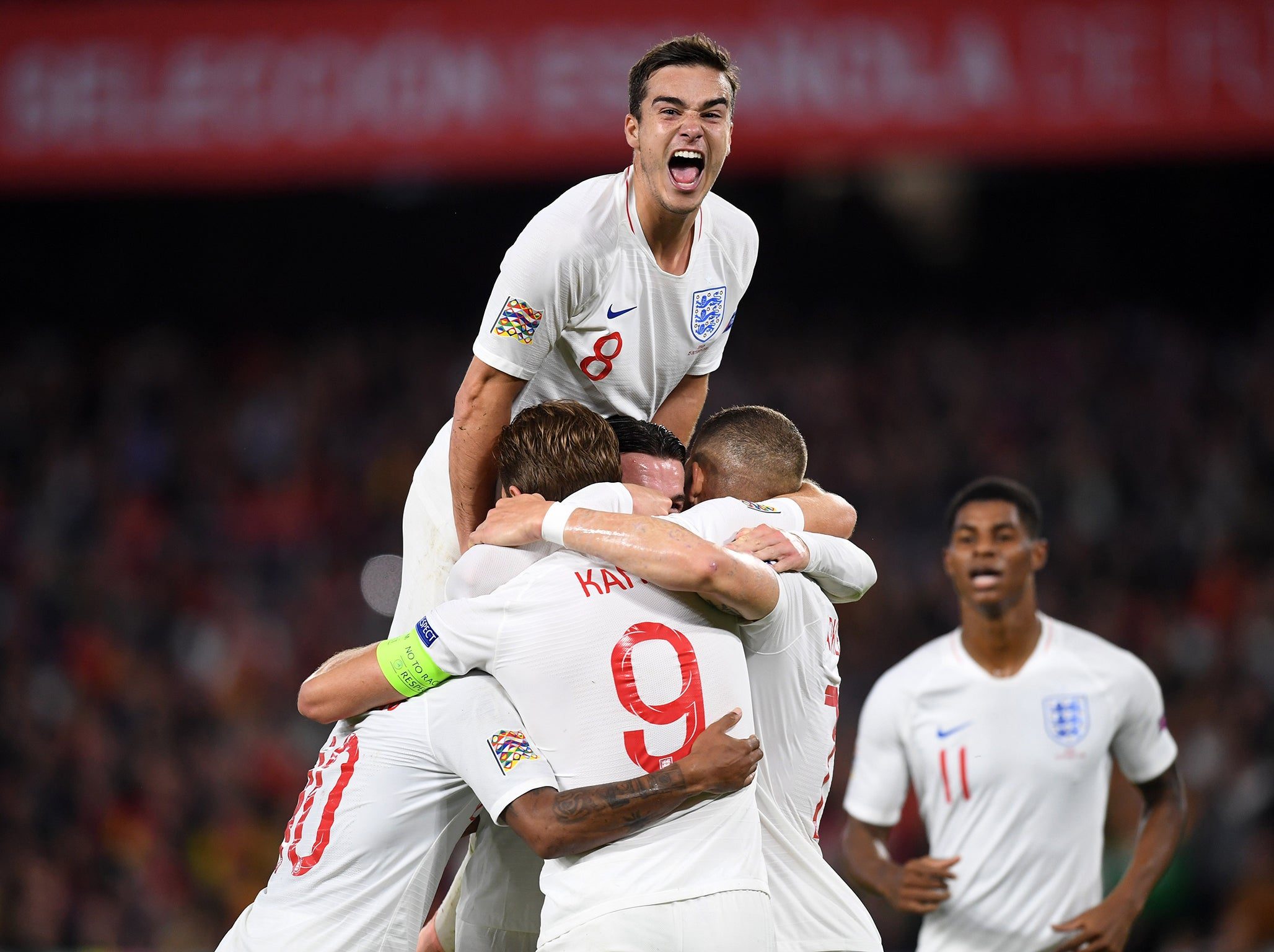 Spain vs England: Harry Winks enjoyed mixing it with the world's best - and he wants more