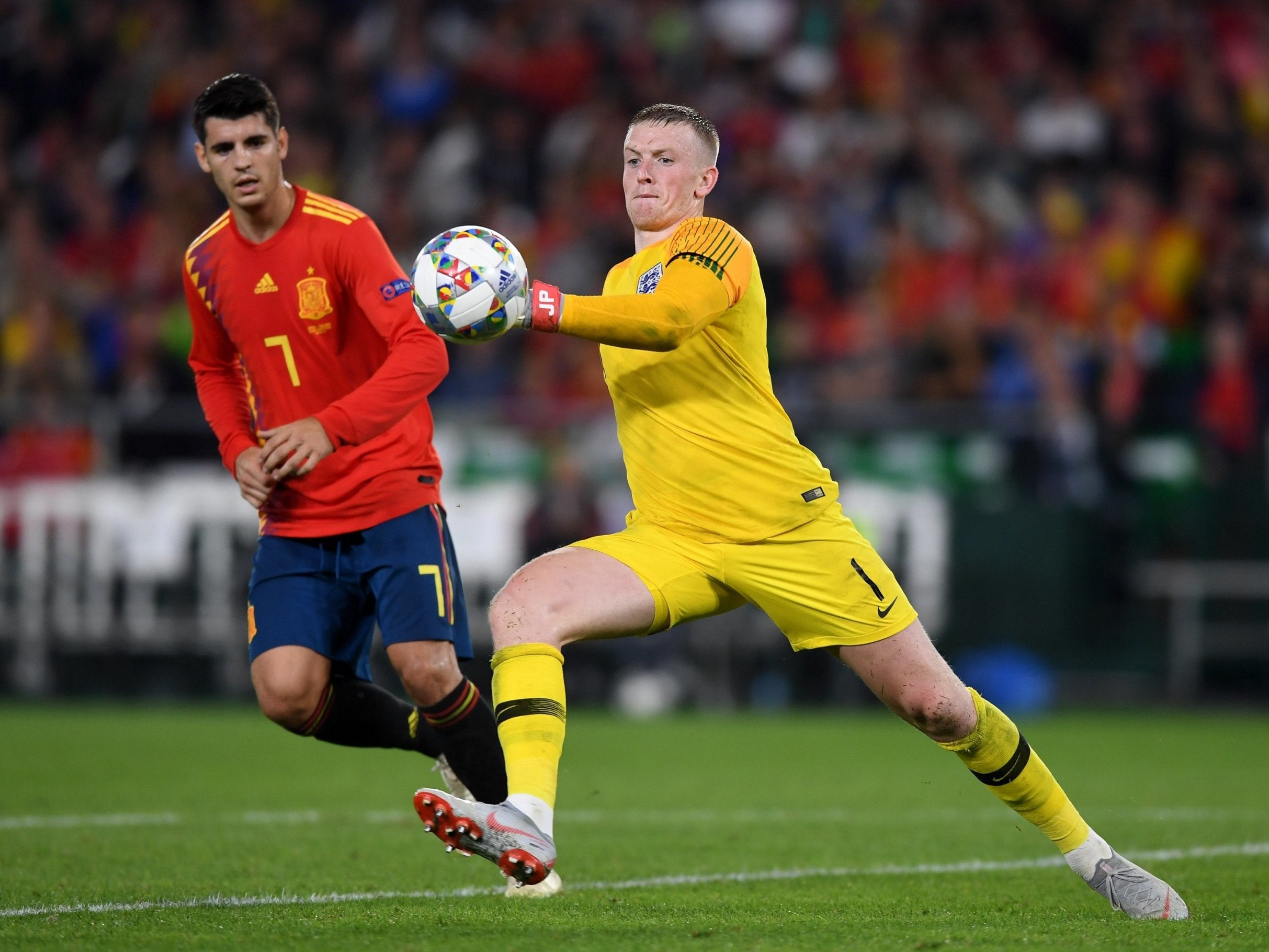 Jordan Pickford S Ability To Play With His Feet Opens A