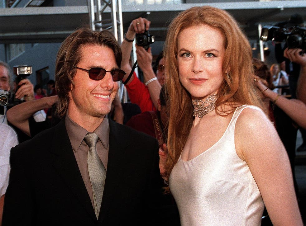 Tom Cruise and Nicole Kidman arrive at the official opening of Fox Studios Australia in Sydney, November 7 1999