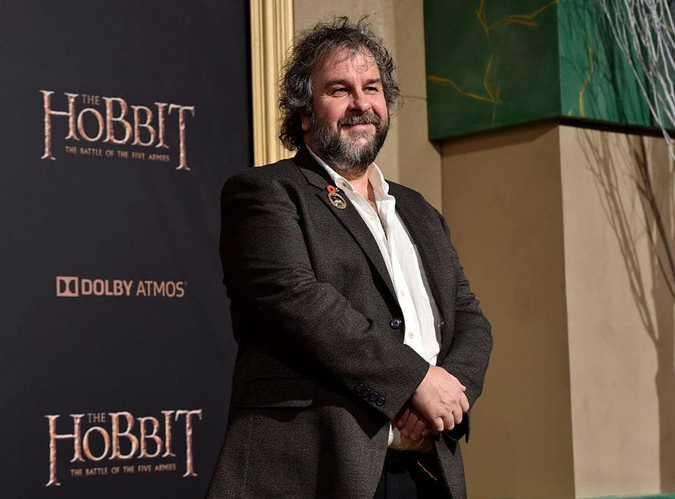 Peter Jackson attends the premiere of 'The Hobbit: The Battle of the Five Armies' in Hollywood, California in 2014