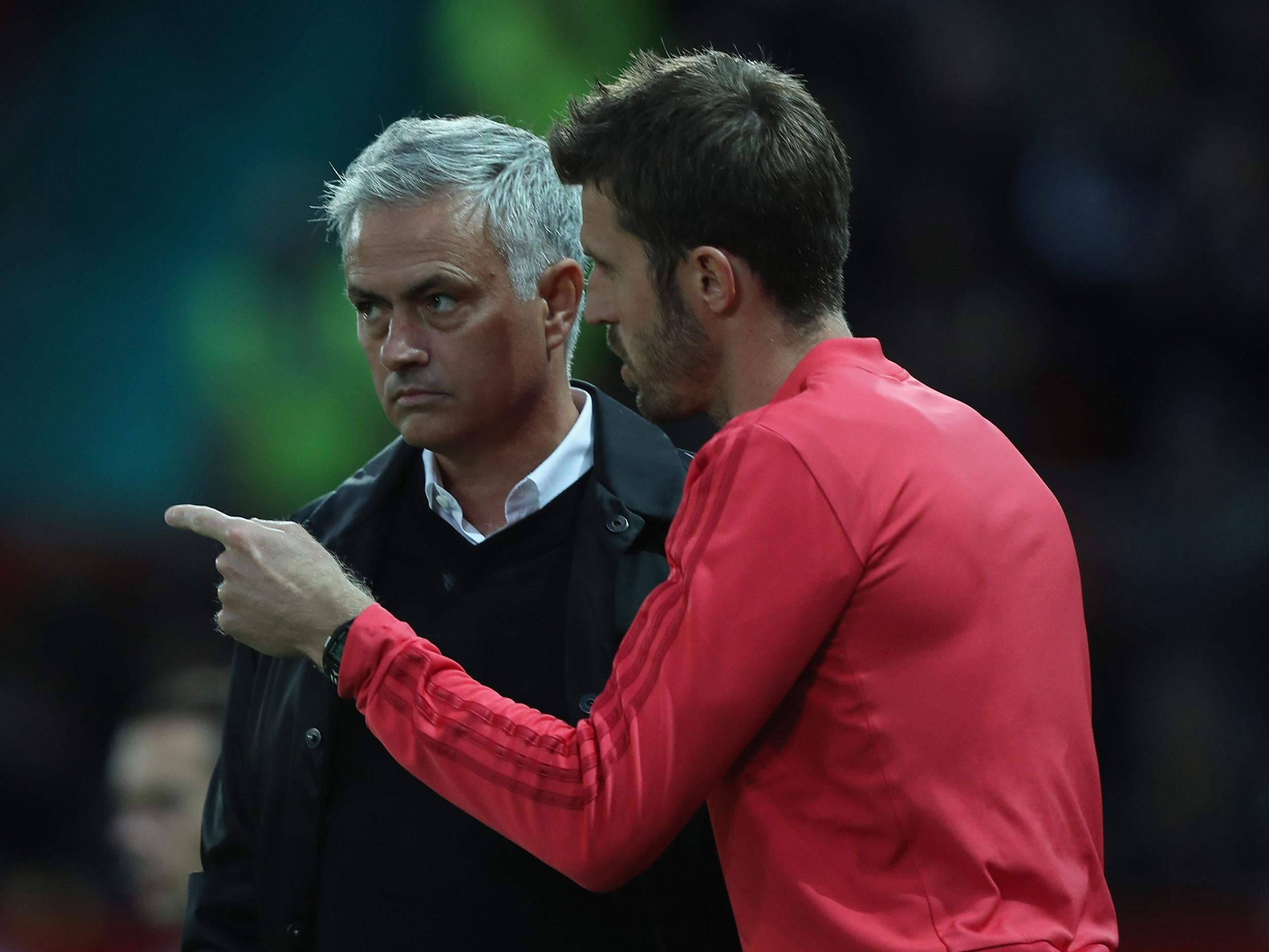 Michael Carrick dismisses claims Manchester United players are not trying for Jose Mourinho