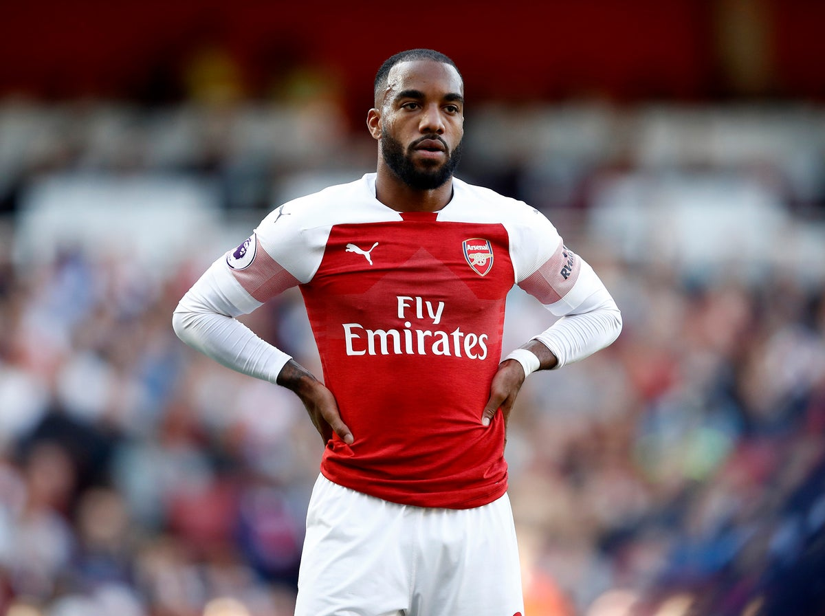 Arsenal news: Alexandre Lacazette not impressed with lacklustre Premier  League atmosphere | The Independent | The Independent
