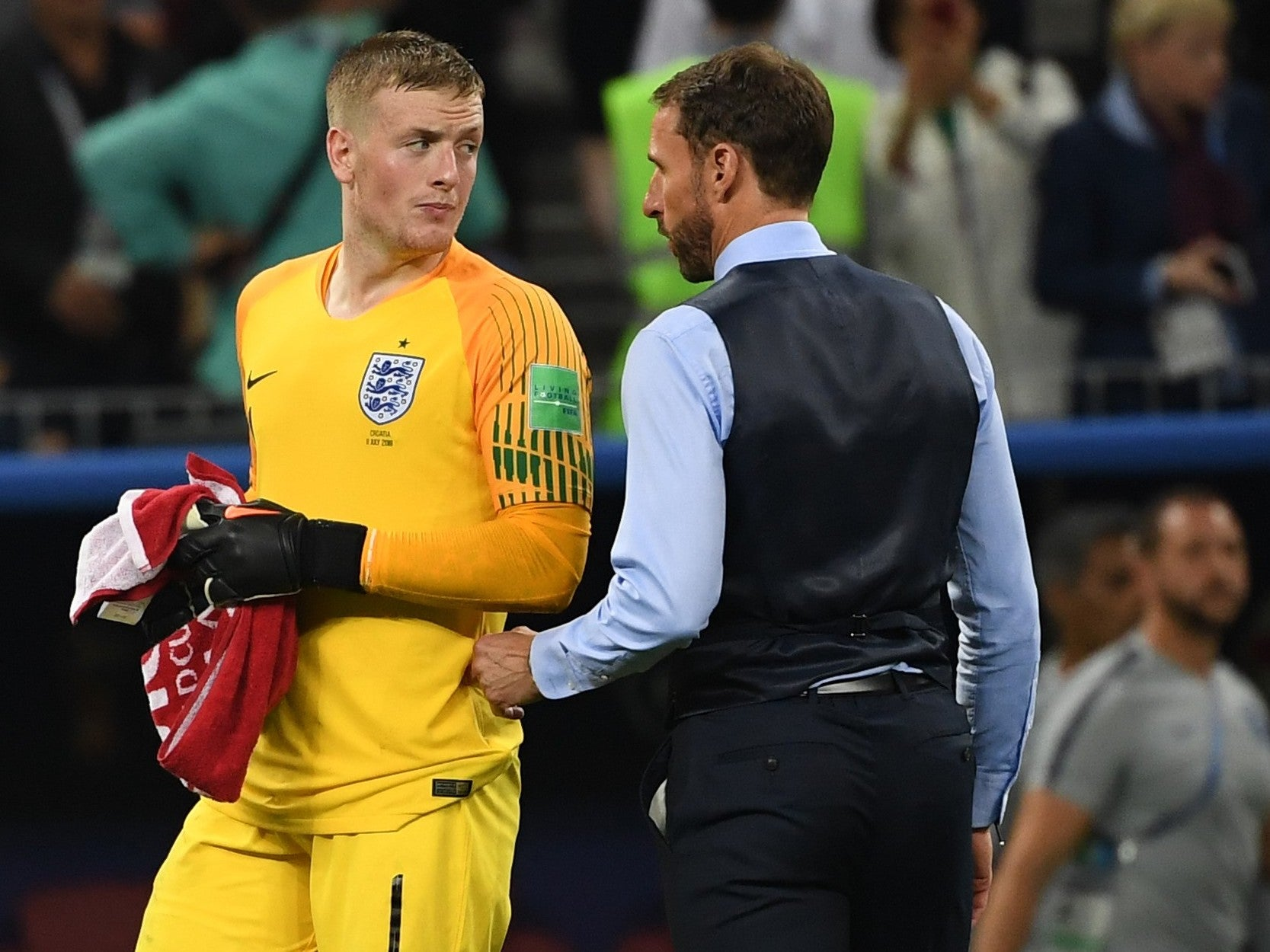 bcb98c1ca6f Gareth Southgate defends decision to be tactically 'fearless' because  that's exactly what he wants from England | The Independent