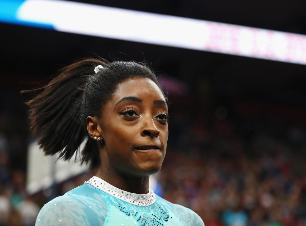 Simone Biles was one of the gymnasts to speak out against Mary Bono's appointment