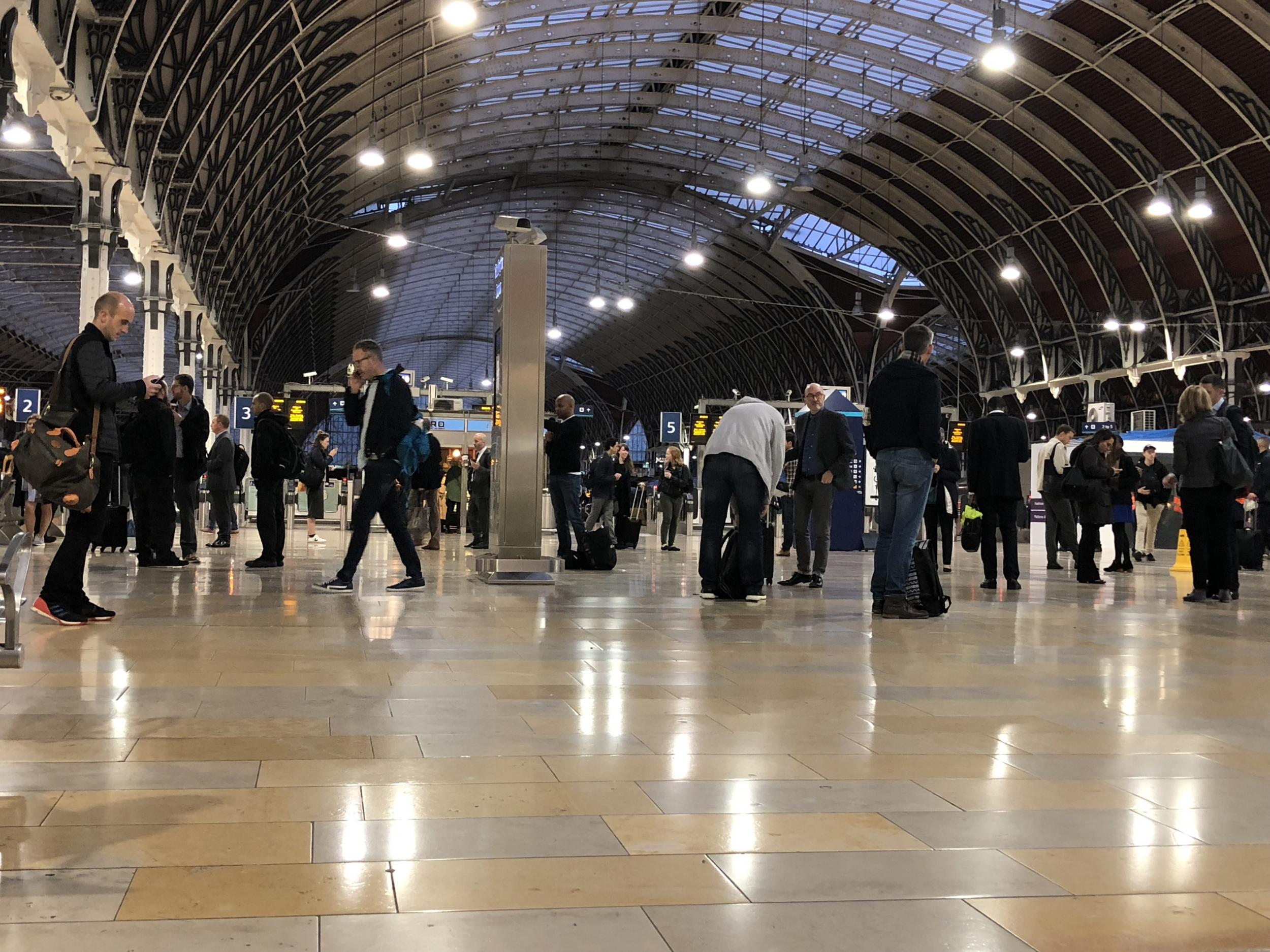 Rail passenger wins £28,000 after 'possibly' slipping on pigeon droppings at London station