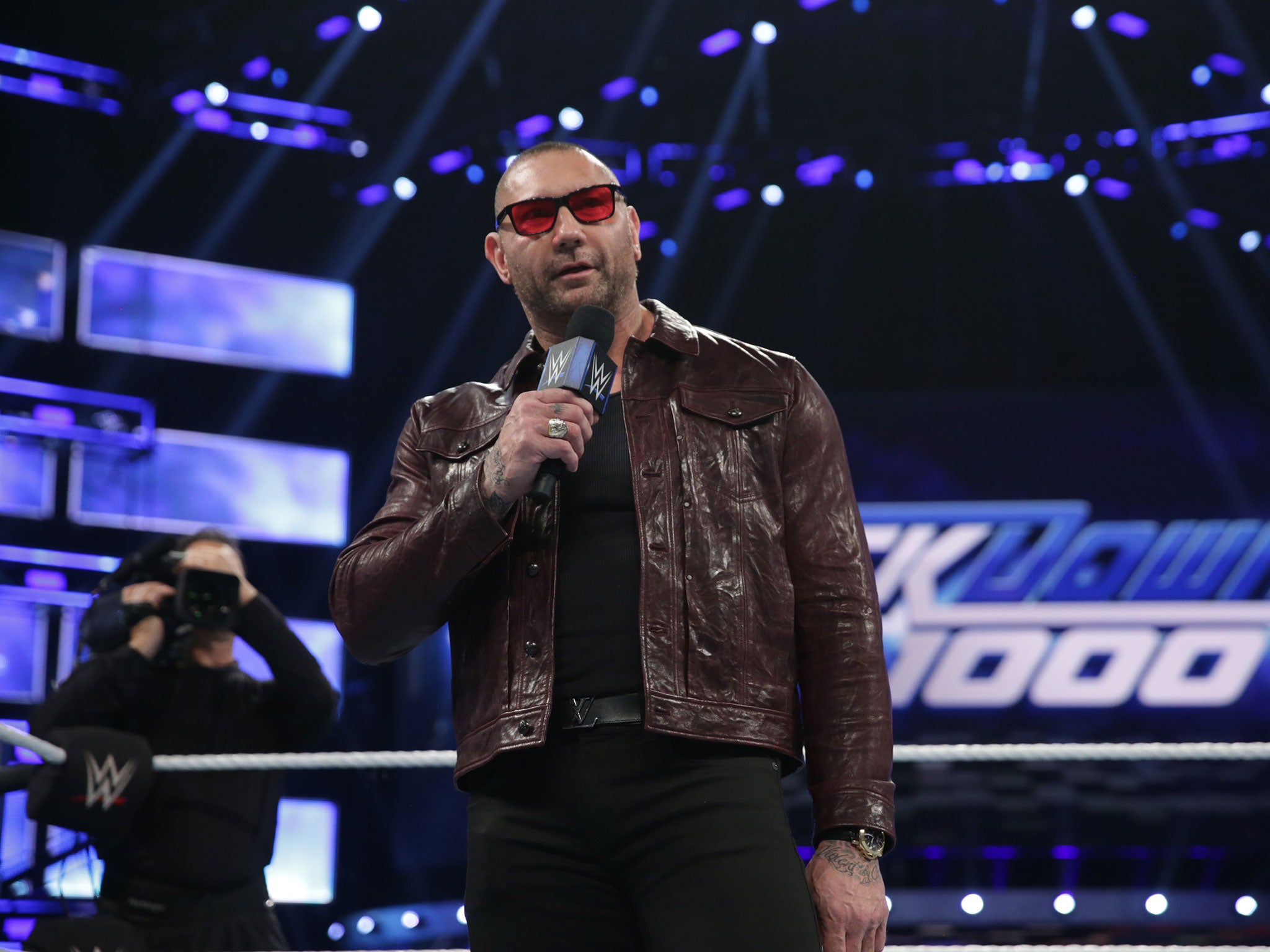 Smackdown 1,000: Hollywood star Batista returns to set up ...