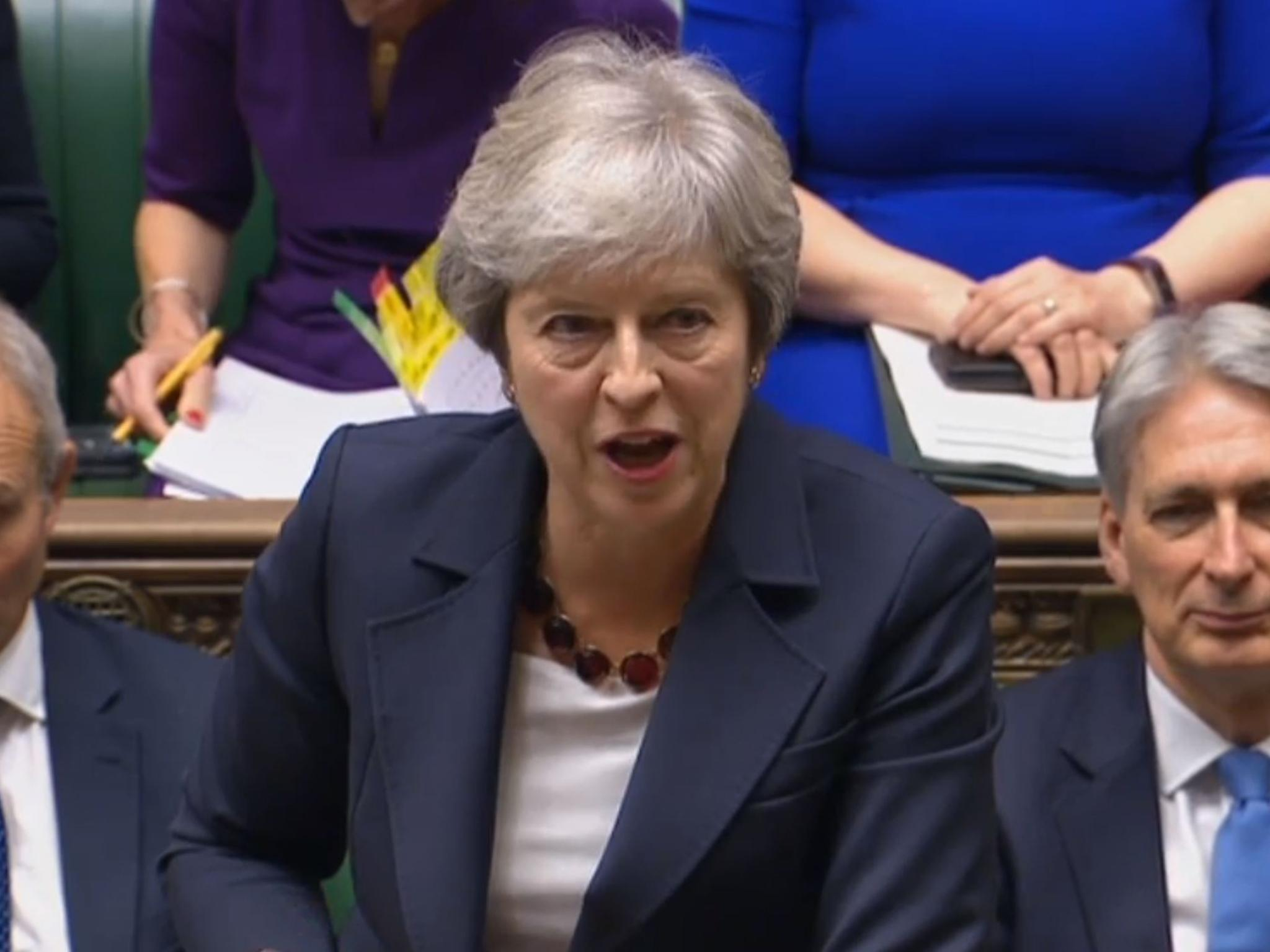 Oxford economist accuses Theresa May of 'lying' when she quoted him during PMQs