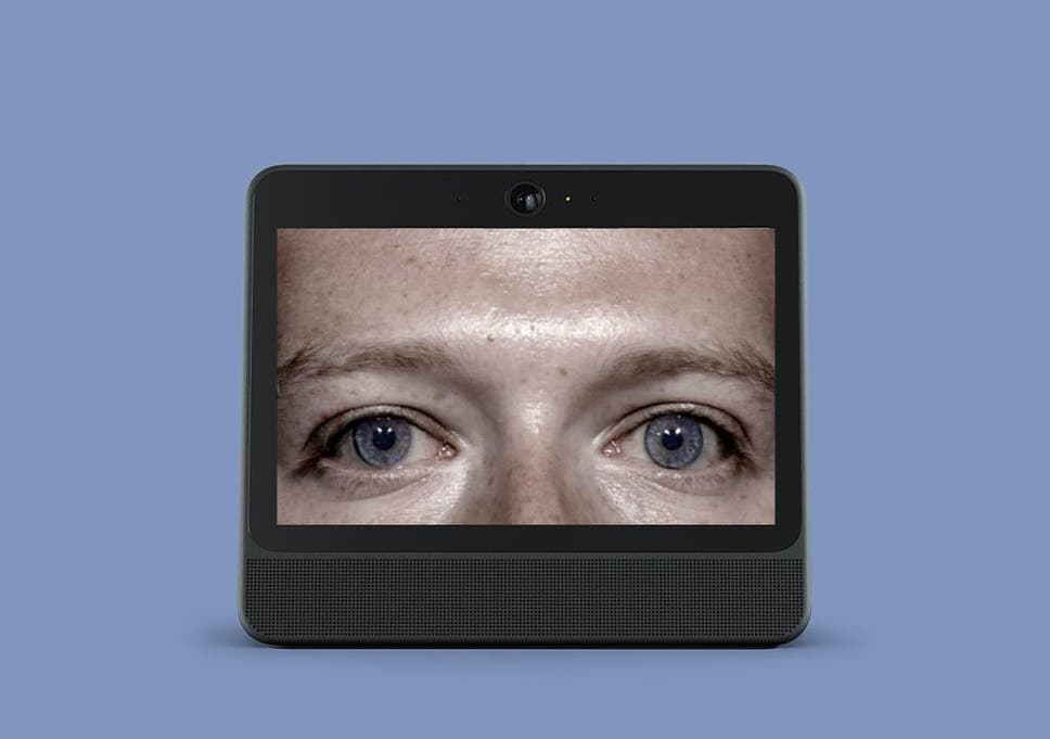 Facebook admits its camera-equipped listening device can collect