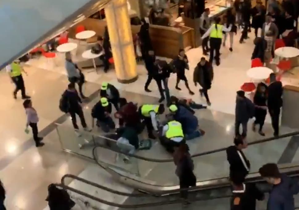 A Man Fell Onto A Woman At Westfield Shopping Centre In Stratford East London