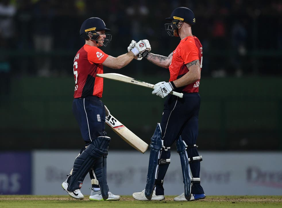 Eoin Morgan's unbeaten 58 sealed the win for England