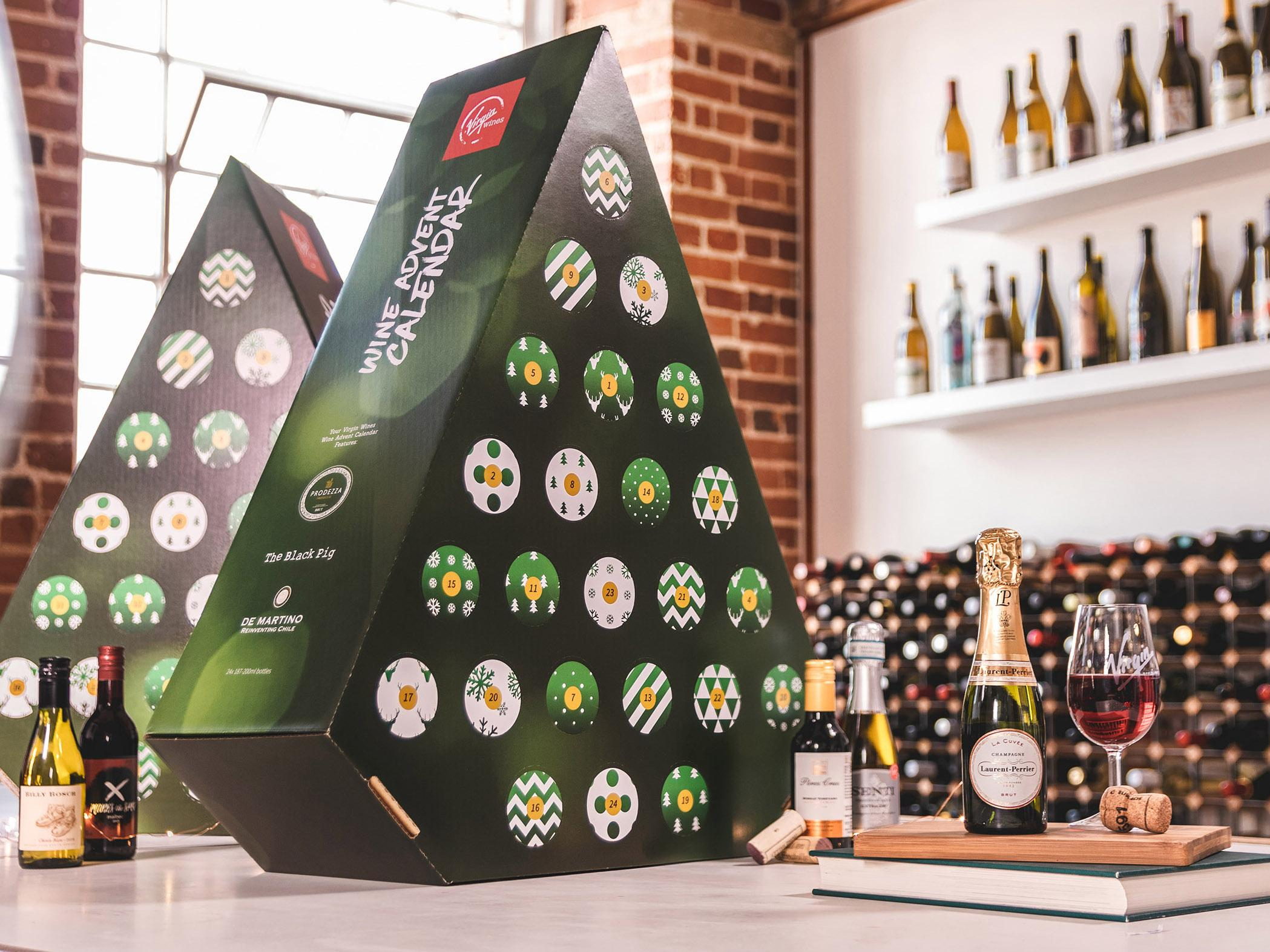 Watch The Worlds First Wine Advent Calendar Is Here video