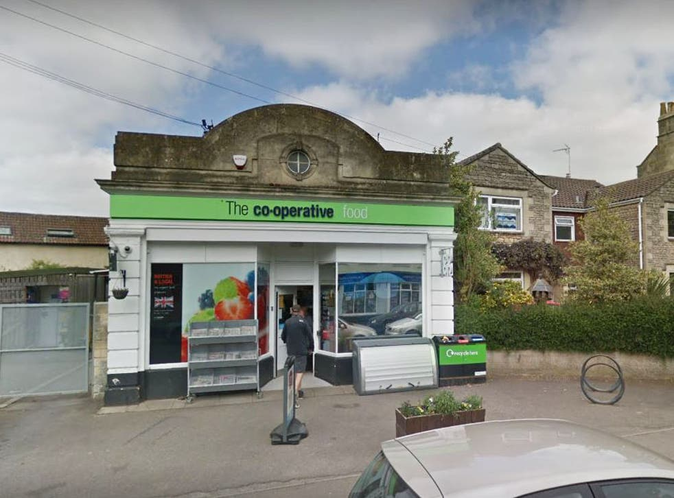 The Co-Op in The Avenue, Combe Down, Bath