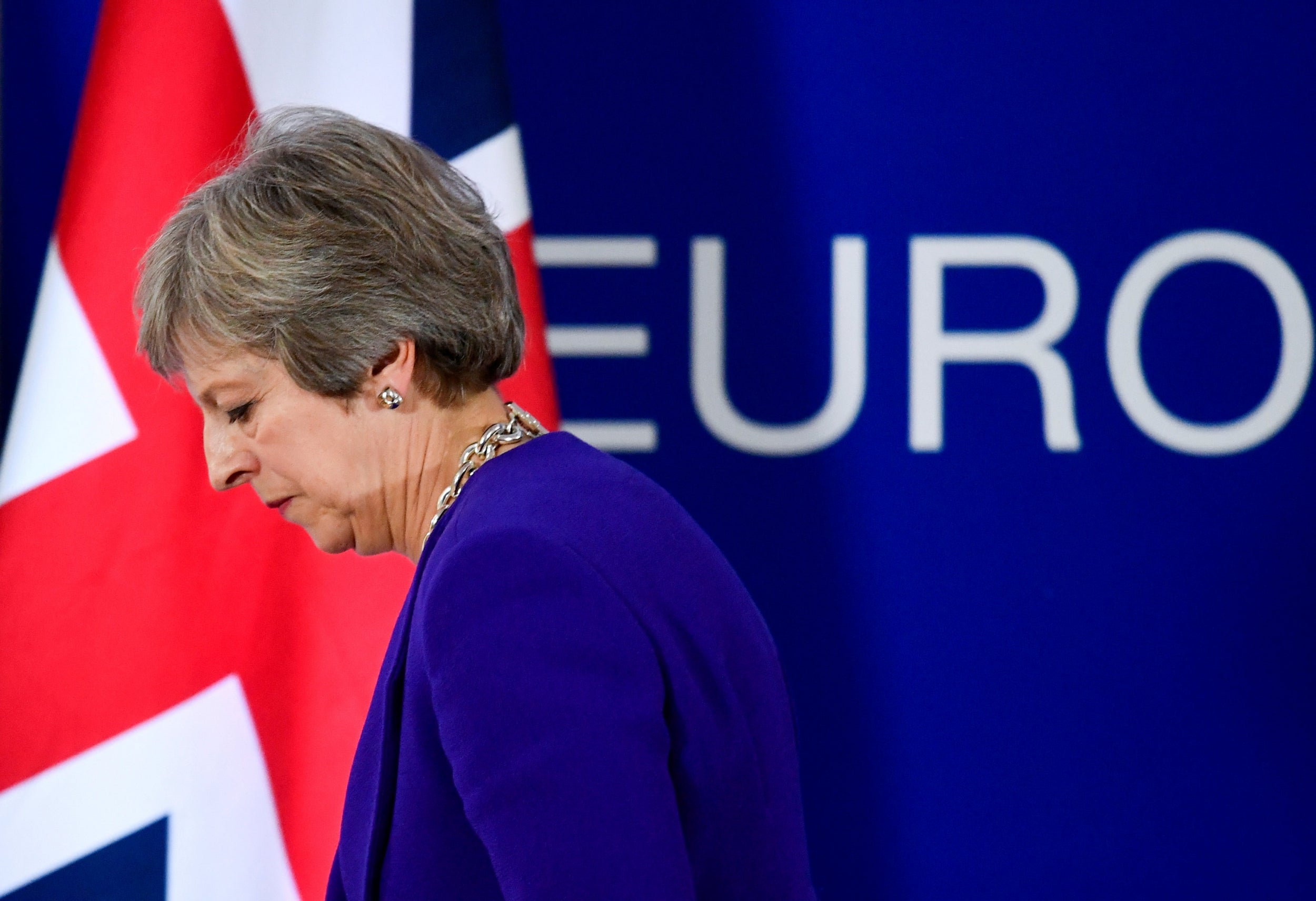 Theresa May says calling a general election to break Brexit deadlock 'would not be in the national interest'