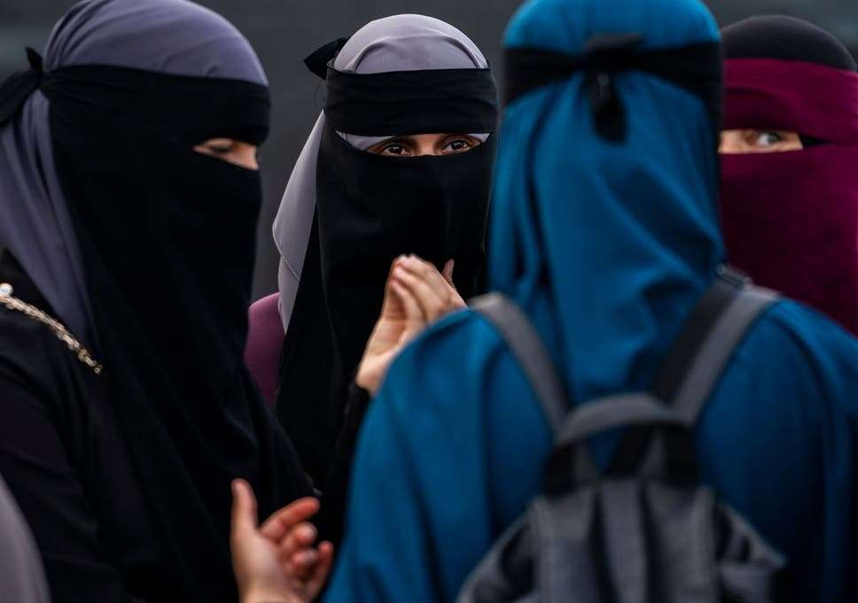 Few women in Algeria wear the niqab (File photo)