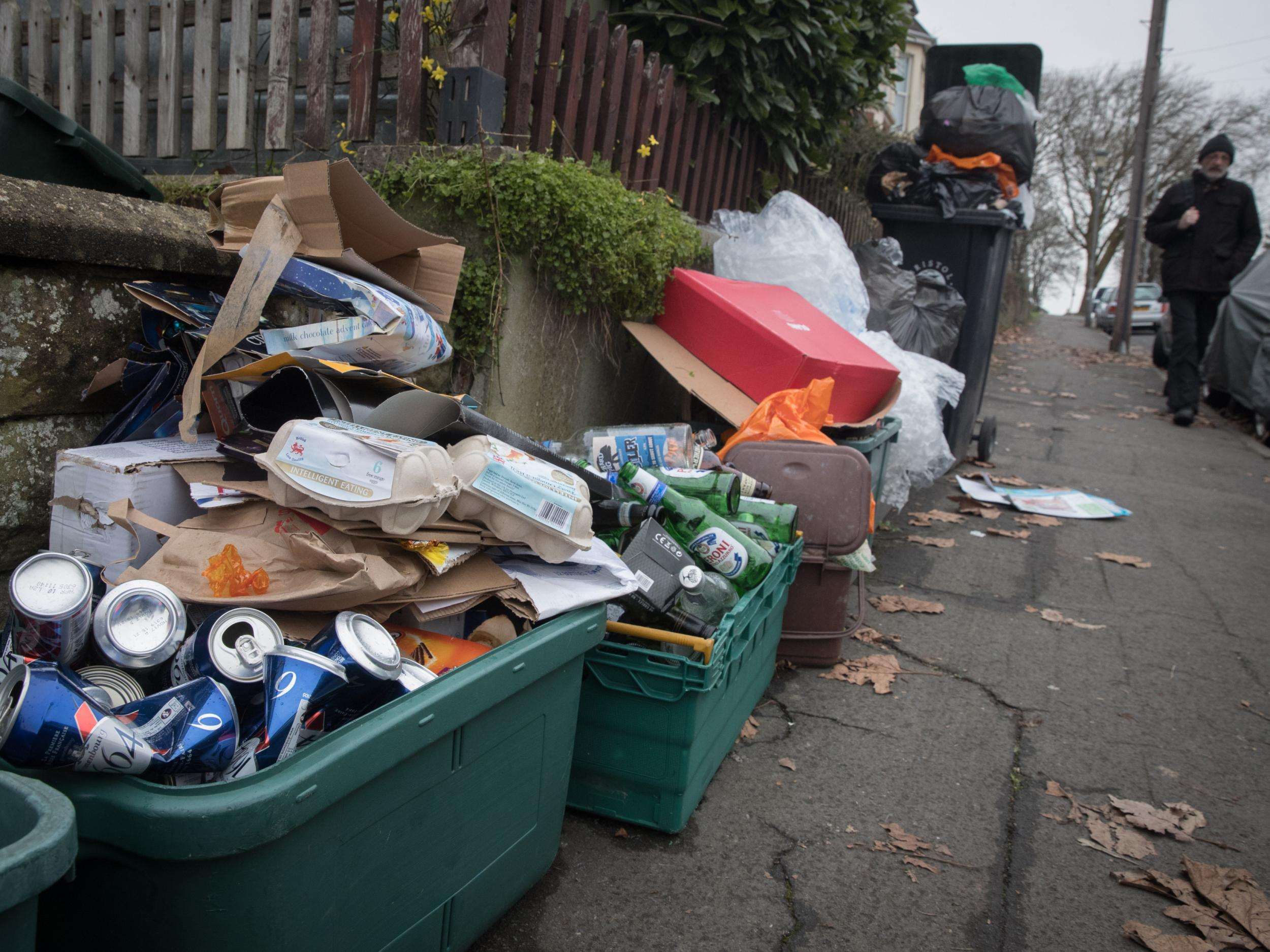 Recycling costs surge for UK councils after Chinese ban on 'foreign garbage' imports | The IndependentShapeleftrightShape