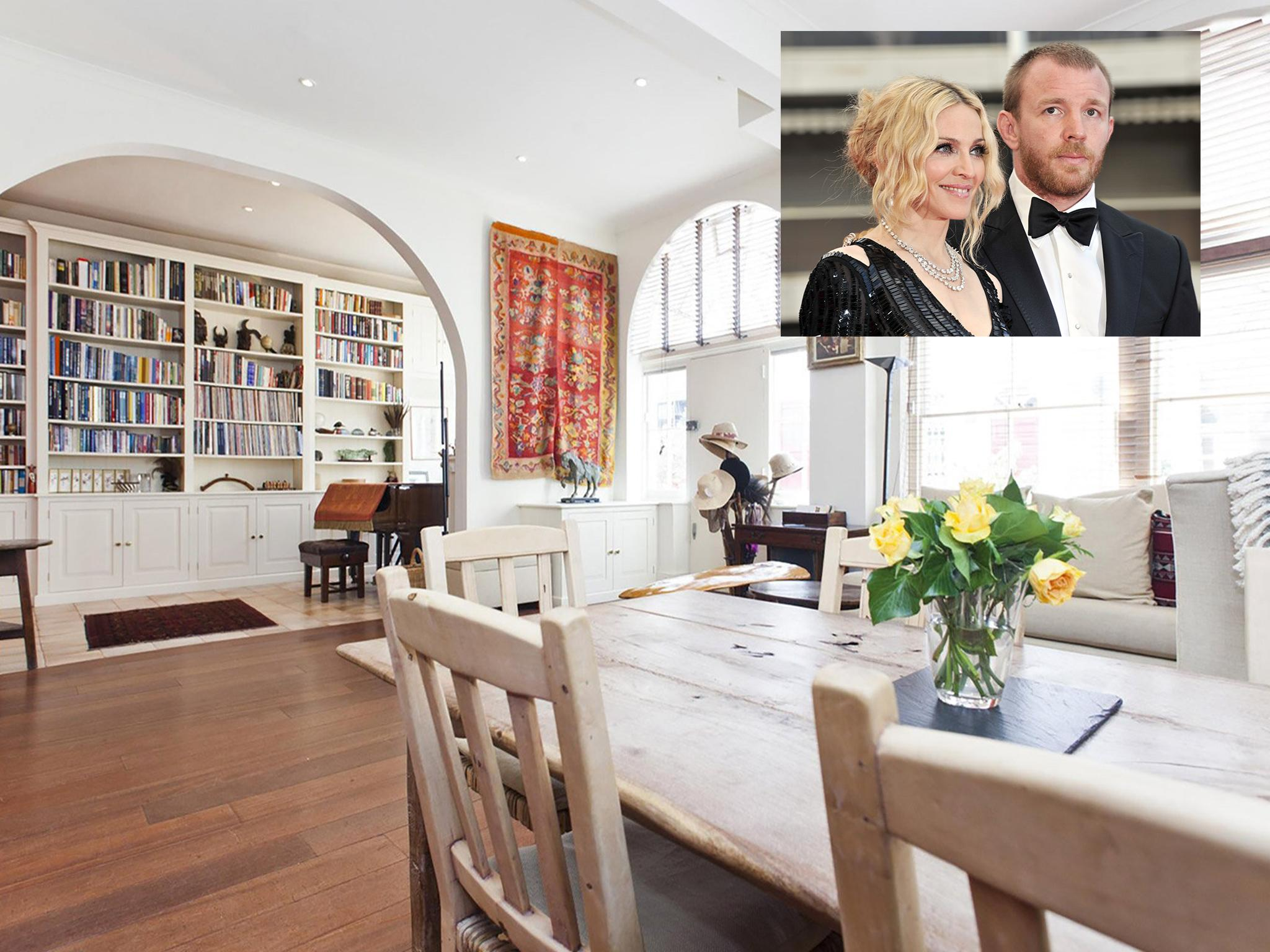 Madonna And Guy Ritchieu0027s Former London Home Available To Rent