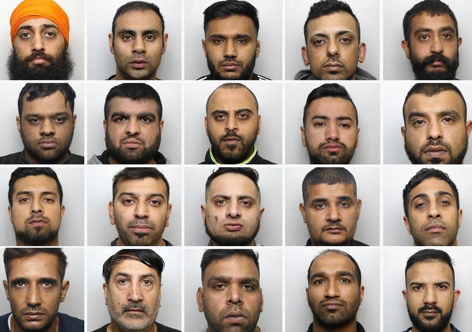 Members of a grooming gang convicted of abusing girls in Huddersfield
