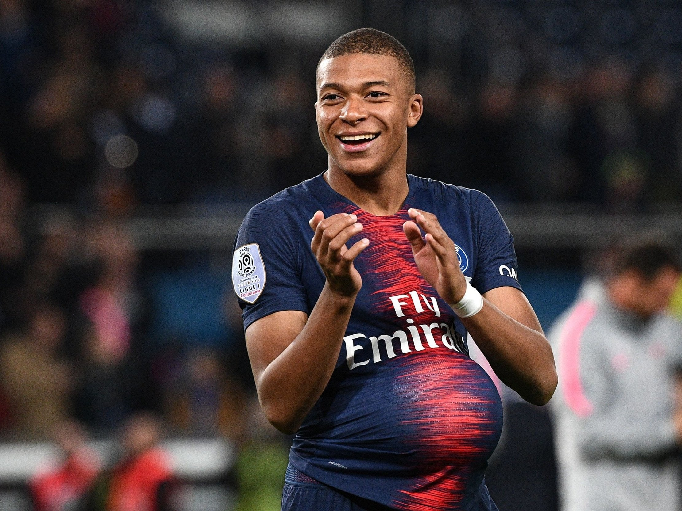 Lionel Messi and Cristiano Ronaldo are still the world's best but won't win the Ballon d'Or, says Kylian Mbappe