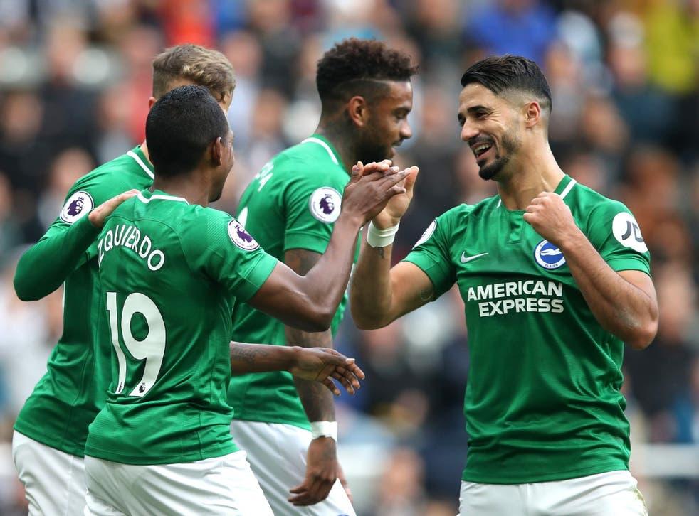 The ball ricocheted in off Keram Bayal for Brighton's winner