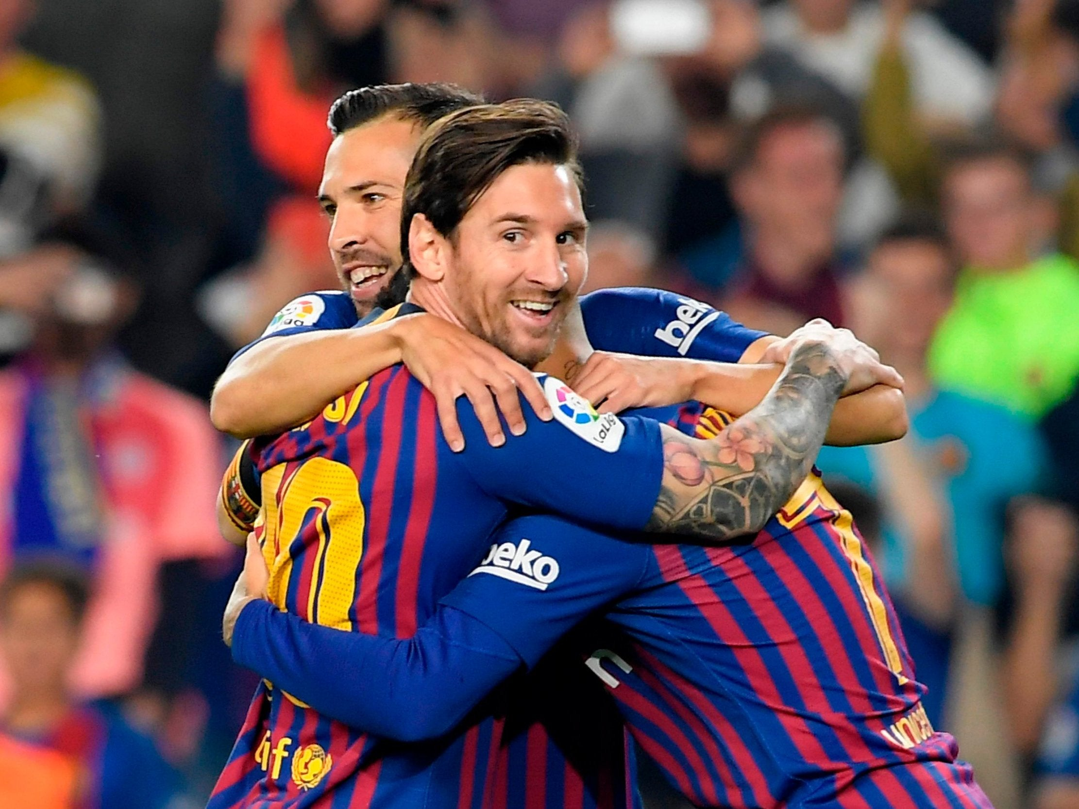 Barcelona Vs Sevilla Live Latest Updates From The Nou Camp As Jersey Couple Catalans Capitalise On Real Madrids Defeat Independent