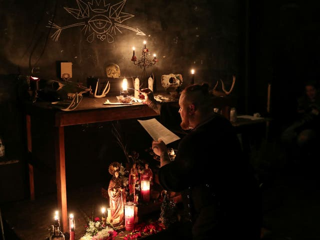 The ritual against Supreme Court Justice Brett Kavanaugh