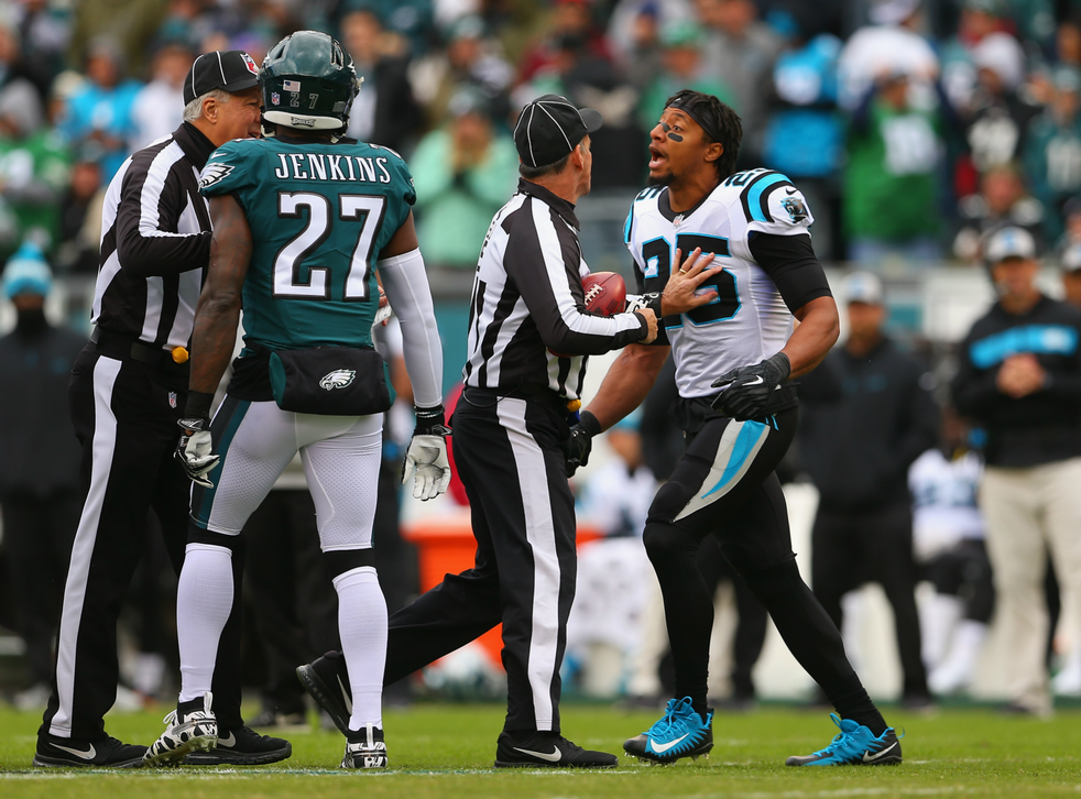 Reid confronted Jenkins before the Panthers took on the Eagles